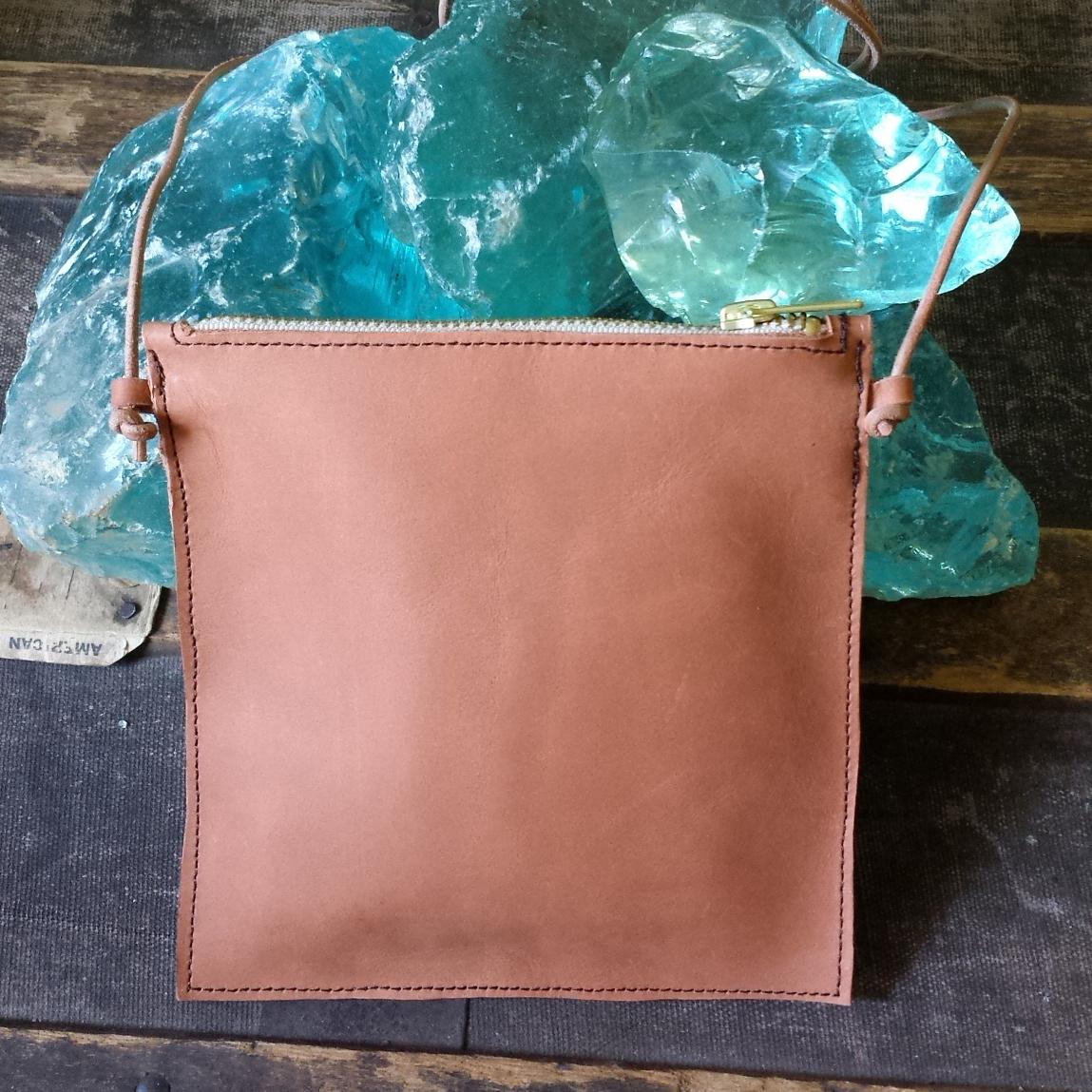 Mini Crossbody Bag – Light Cognac – $75