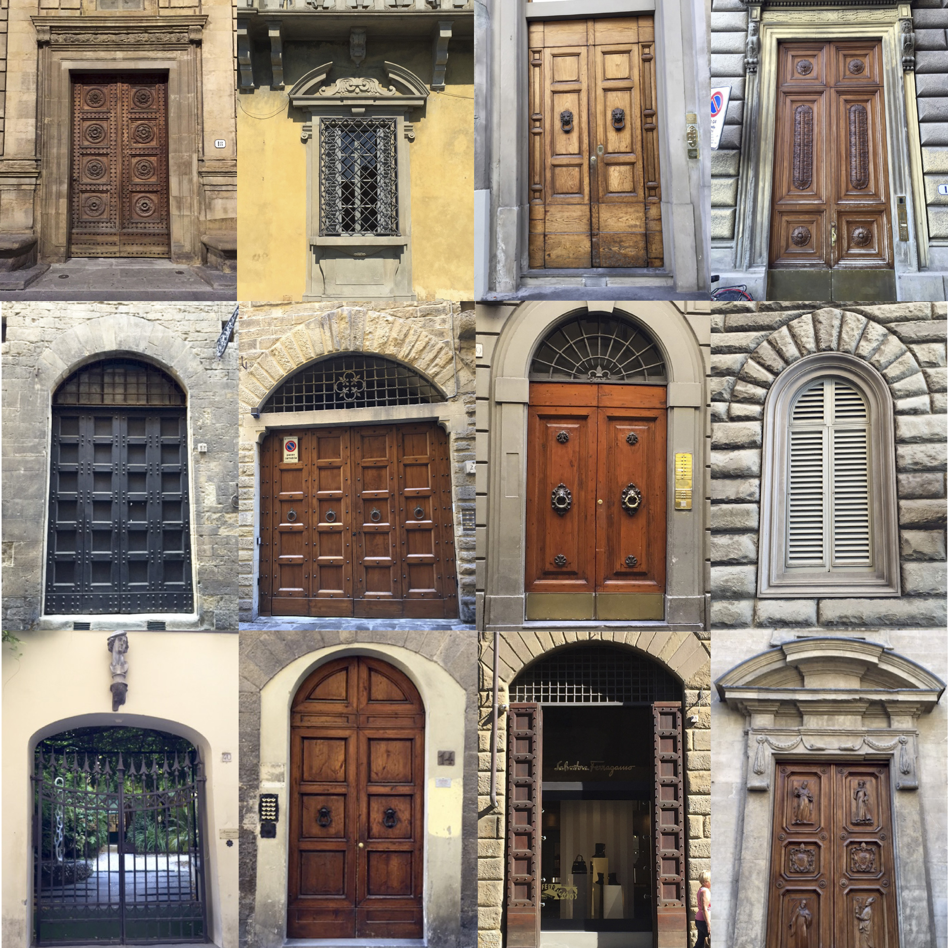 Doors of Florence
