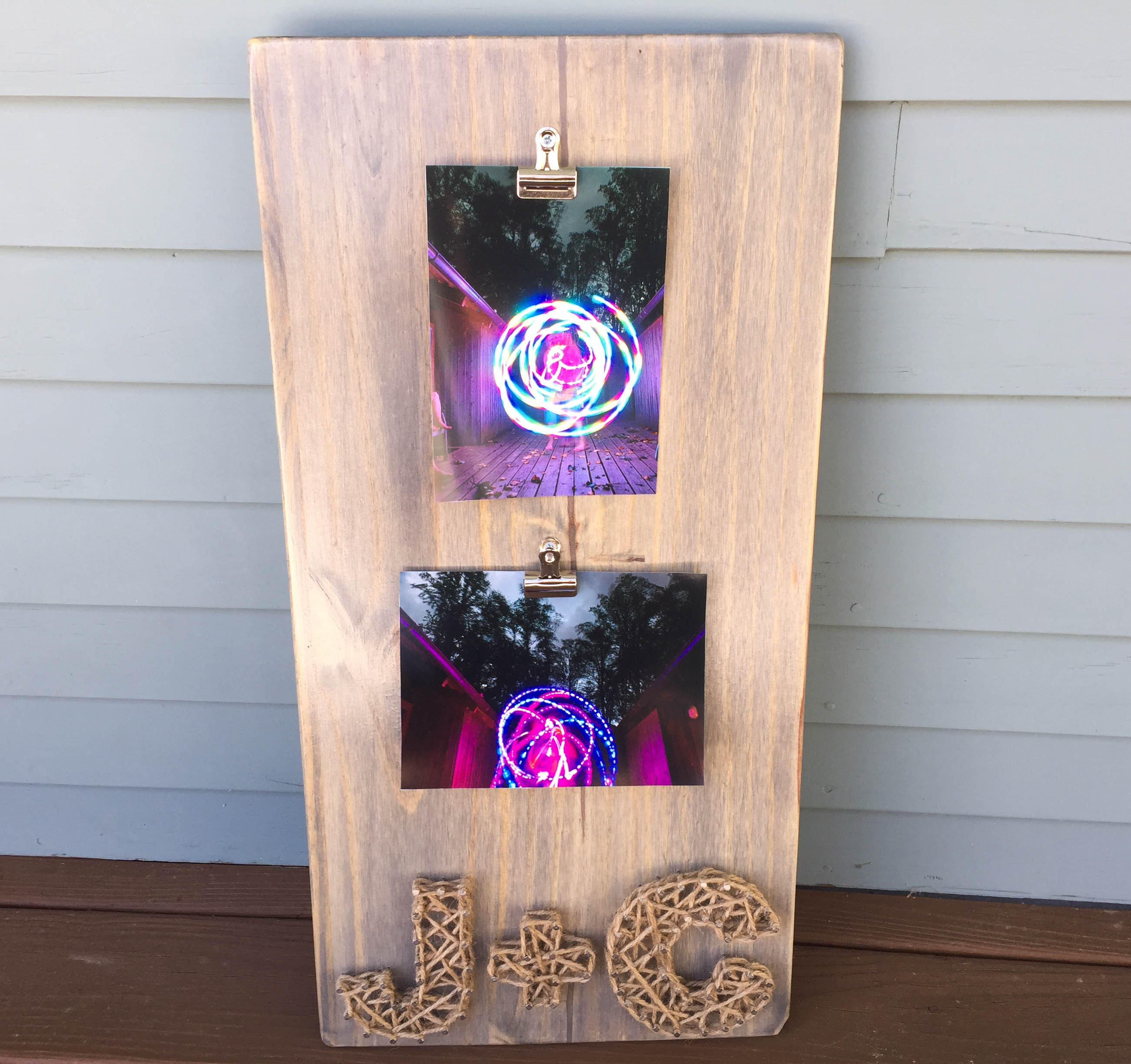 String Art Photo Board